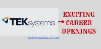 TEKsystems Job Vacancies