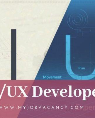 UI/UX Developer Job Openings