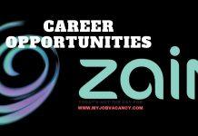 Latest Zain Job Vacancies