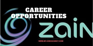 Latest Zain Job Vacancies