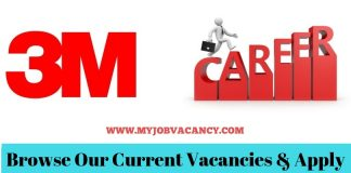 3M Gulf Job Vacancies