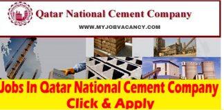 Qatar National Cement Jobs
