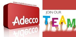 Adecco Latest Job Vacancies