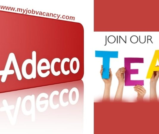 Adecco Latest Job Vacancies
