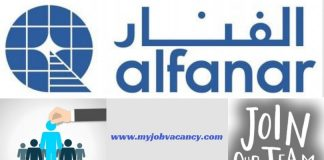Alfanar Latest Job Vacancies