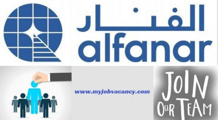 Alfanar Latest Job Vacancies