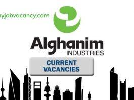 Alghanim Industries Job vacancies