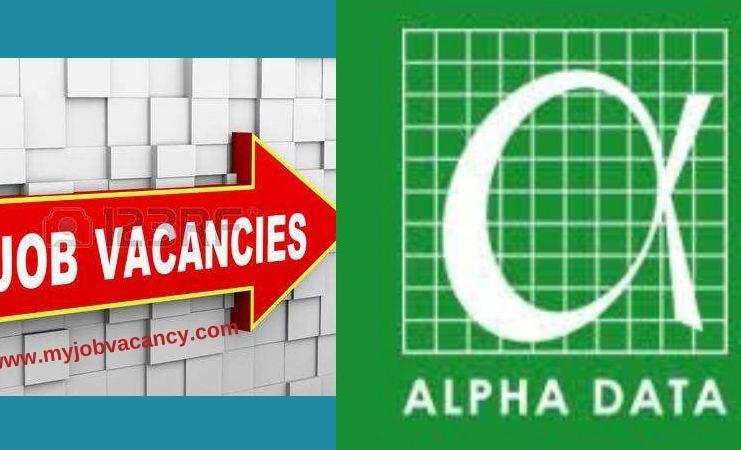 Alpha Data Job Vacancies