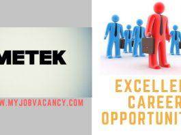 AMETEK Latest Job Vacancies