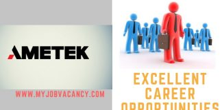 AMETEK Latest Job Vacancies