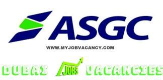 ASGC Dubai Jobs