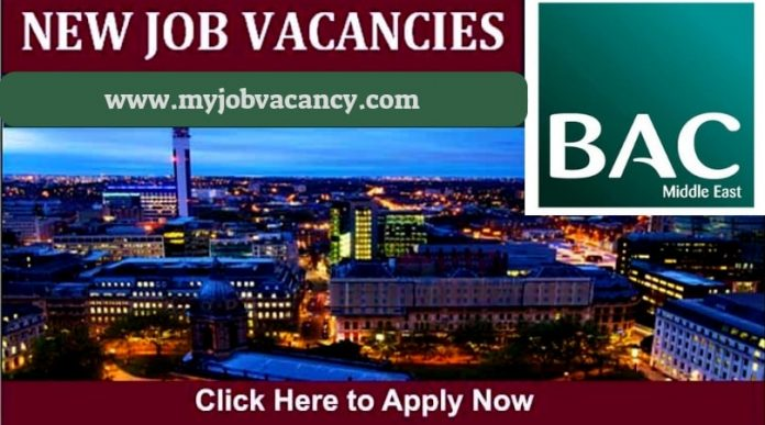 BAC Middle East Jobs