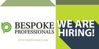 Bespoke Professionals Job Vacancies