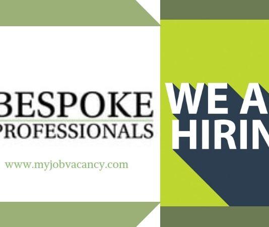 Bespoke Professionals Job Vacancies