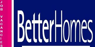 Betterhomes Latest Job Vacancies