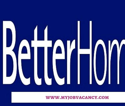 Betterhomes Latest Job Vacancies