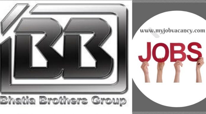 Bhatia Brothers Group Jobs