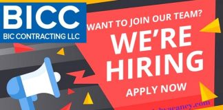 BIC Contracting Job Vacancies