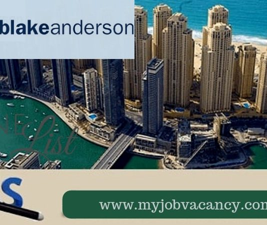 Blake Anderson Job Vacancies