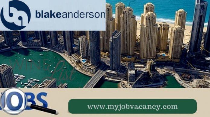 Blake Anderson Job Vacancies