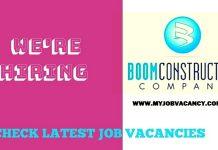 BOOM Construction Jobs