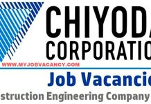 Chiyoda Corporation Job Vacancy