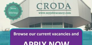 Croda Latest Job Opportunities