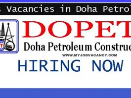DOPET Qatar Jobs