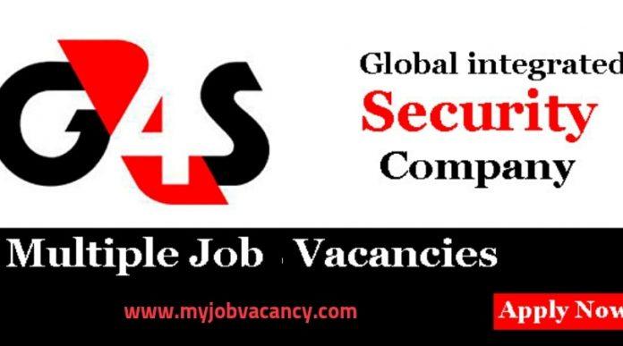 G4S Latest Job Vacancies