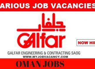 Galfar Oman Job Vacancies