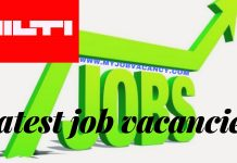 Hilti Job Vacancies