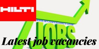 Hilti Job Vacancies