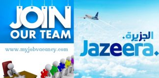 Jazeera Airways Job Vacancies