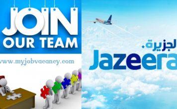 Jazeera Airways Job Vacancies