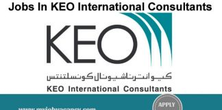 KEO Latest Job Vacancies