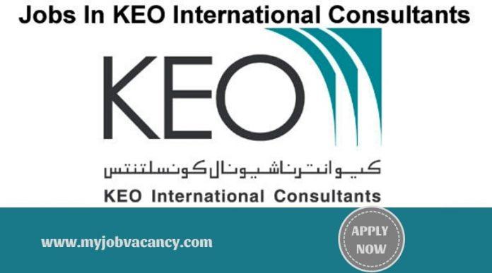 KEO Latest Job Vacancies