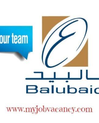 Latest Balubaid Group Jobs