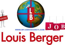 Louis Berger Job Vacancies