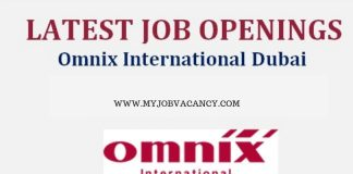Omnix International Dubai Jobs