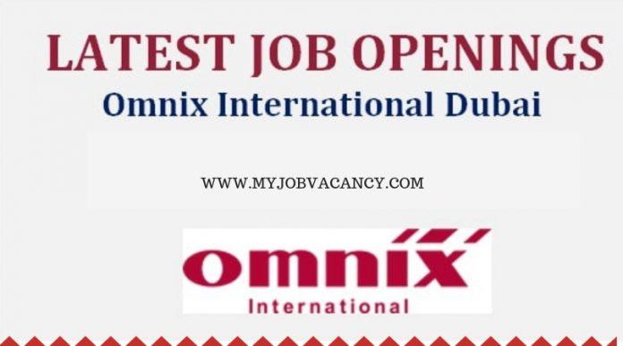 Omnix International Dubai Jobs
