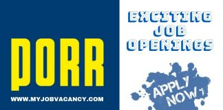 PORR Gulf Job Vacancy