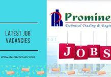 Prominent Latest Job Vacancies