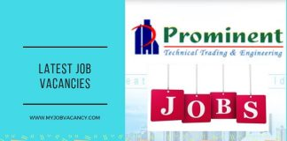Prominent Latest Job Vacancies