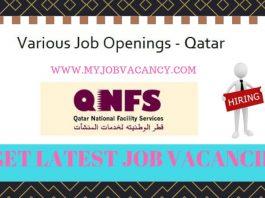 QNFS Qatar Job Vacancies