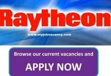 Raytheon Job Vacancies