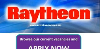 Raytheon Job Vacancies