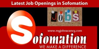 Sofomation Latest Job Vacancies