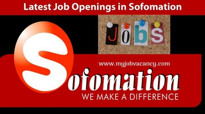 Sofomation Latest Job Vacancies