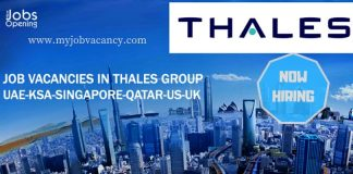 Thales Group Job Vacancies