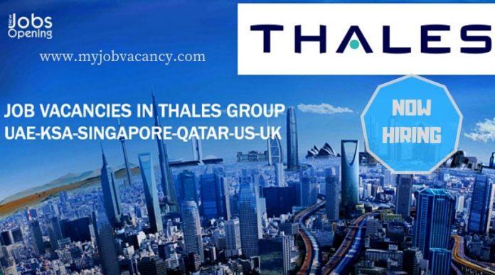 Thales Group Job Vacancies